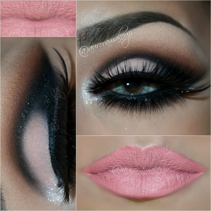 Give your eyelids more definition with dramatic cut crease eye makeup and lush eyelashes. This gorgeous night out look pairs perfectly with pink lipstick. Try it now!