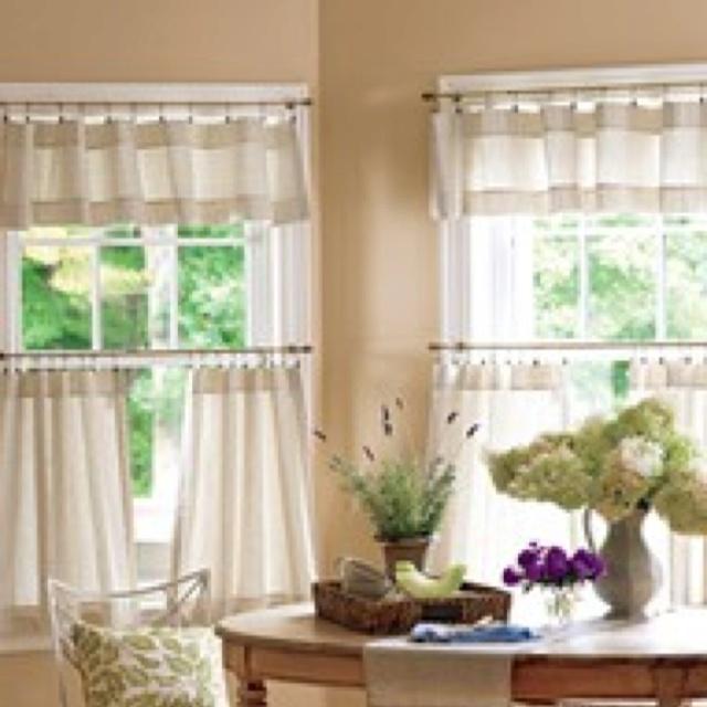 Curtain Idea For Kitchen