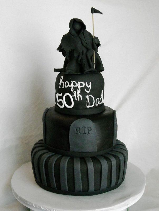 Grim Reaper Cake Mister Shannon S 50th Birthday