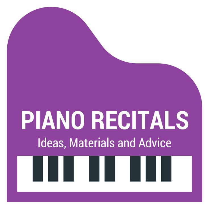 Ideas, resources and advice for hosting a successful piano recital.