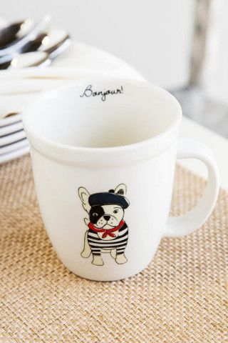 Bonjour Frenchie Mug, Would this make a good gift? http://keep.com/bonjour-frenchie-mug-by-francescas/k/2VoLvLABLs/