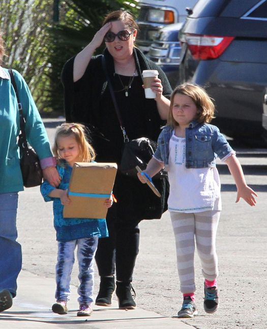 Melissa McCarthy Daughters | Exclusive... Melissa McCarthy Takes Her Daughters…
