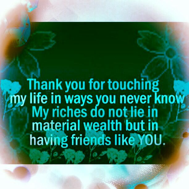 Thankful To Friends Quotes: 77 Best Images About Wishing Words/Gratitude-Good Luck On