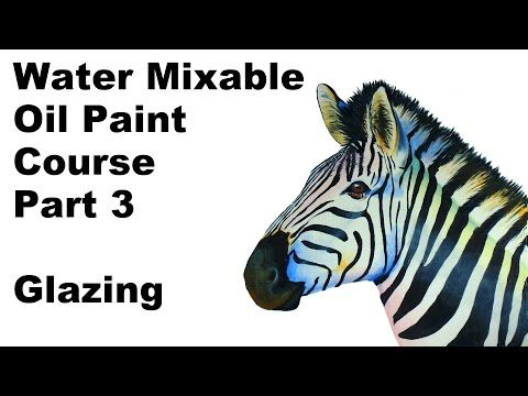 how to paint with water mixable oil paint part 3 grisaille glazing techniques - paint along - YouTube