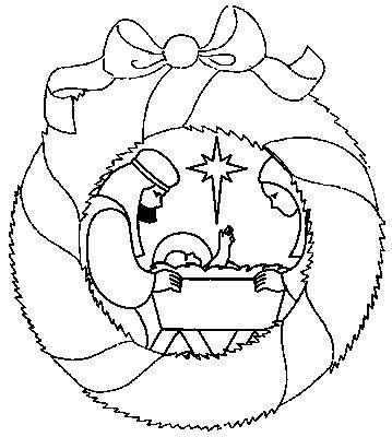 Disegno 29 Natale corone