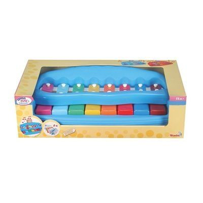 #SimbaToys #toys #kids #toddlers #Infants #colorful #playtime #music #piano #amazonindia #Onlineshopping Simba Play and Learn My First Piano, Multi Color