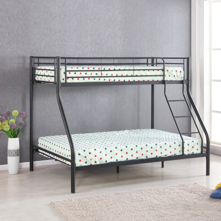 Buy best black iKayaa Single-Over-Double Metal Bunk Bed Frame With Ladder from LovDock.com. Buy affordable and quality Beds & Bed Frames online, various discounts are waiting for youhttps://www.lovdock.com/p-c-h0095uk.html?aid=C6624