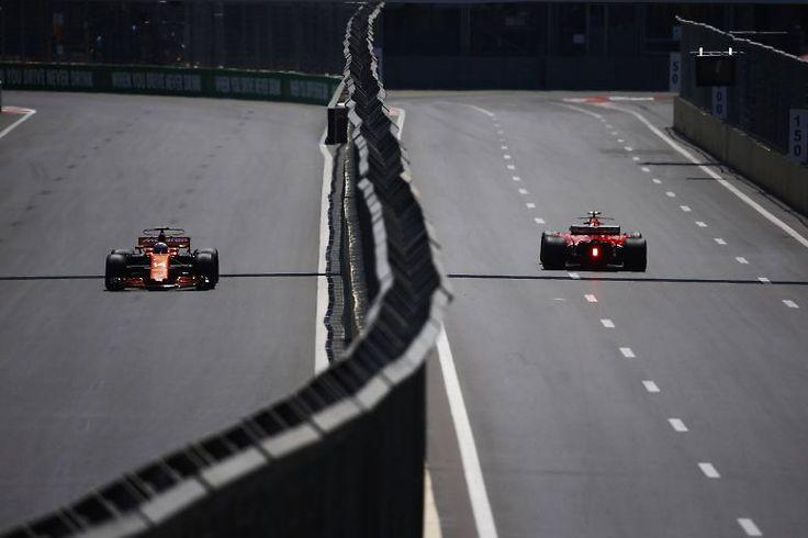 In Baku denkt man offenbar, dass es manchmal besser wäre, die Formel-1-Fahrer zu trennen.
