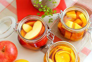 秋に作るフルーツ酒♪