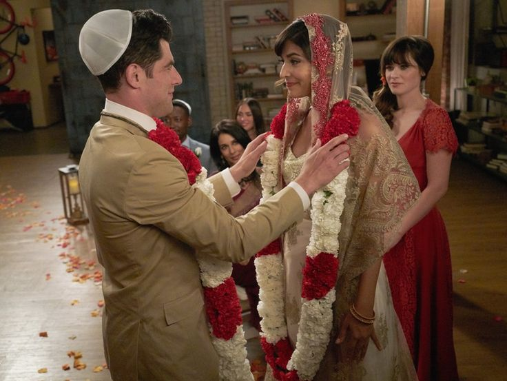 Schmidt & Cece Got Married On 'New Girl' In The Most Romantic Way Possible