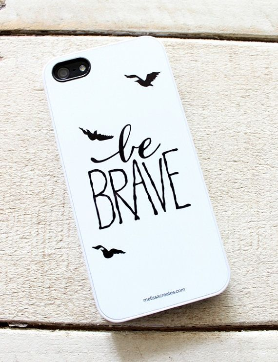 Be Brave Divergent iPhone 5/5s cover by MelissaCreates.com #Divergent #BeBrave #iphonecase