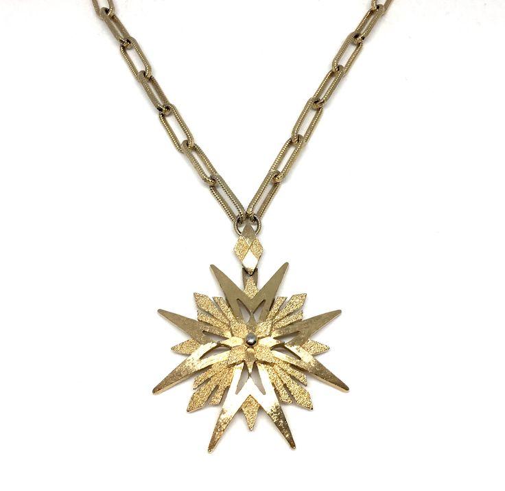 Monet Starburst Halsband