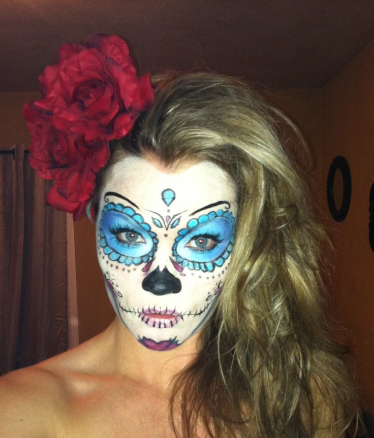 9 best images about Sugar Skull Costume on Pinterest ...