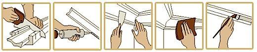 Talissa Decor - Polystyrene Crown Moldings installation instructions