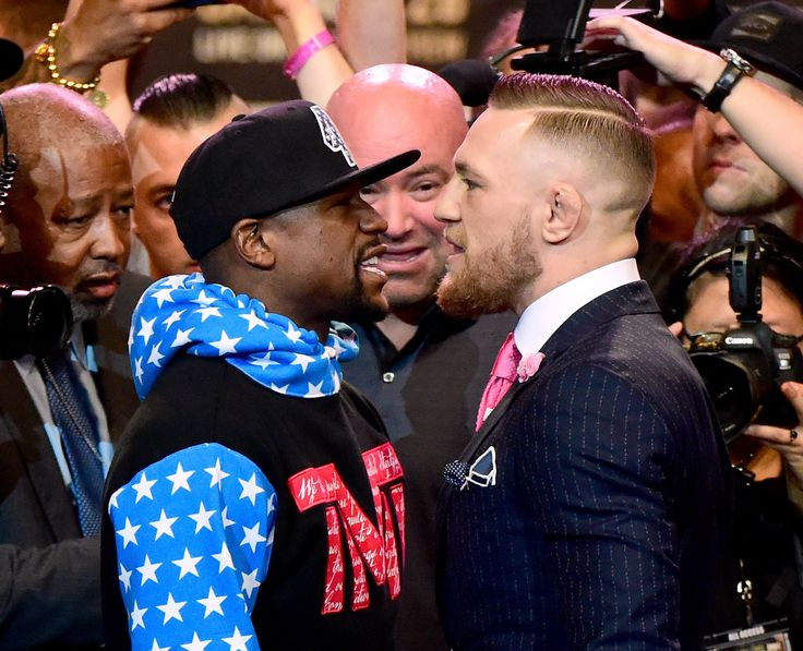 """Conor McGregor's New Suit Is a Big Eff You to Floyd Mayweather  UFC star Conor McGregor donned a suit that literally said """"Fuck You"""" to rival Floyd Mayweather Jr. at a press event for their upcoming fight.   ----------------------------- #gossip #celebrity #buzzvero #entertainment #celebs #celebritypics #famous #fame #celebritystyle #jetset #celebritylist #vogue #tv #television #artist #performer #star #cinema #glamour #movies #moviestars #actor #actress #hollywood #lifestyle"""