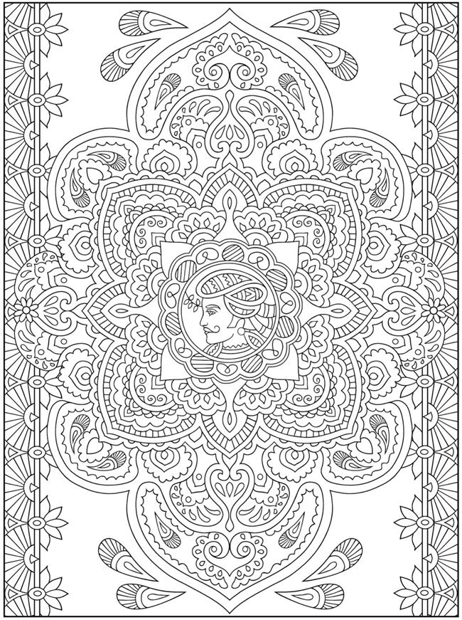 Mehndi designs crafts coloring cultures pinterest for Henna coloring pages