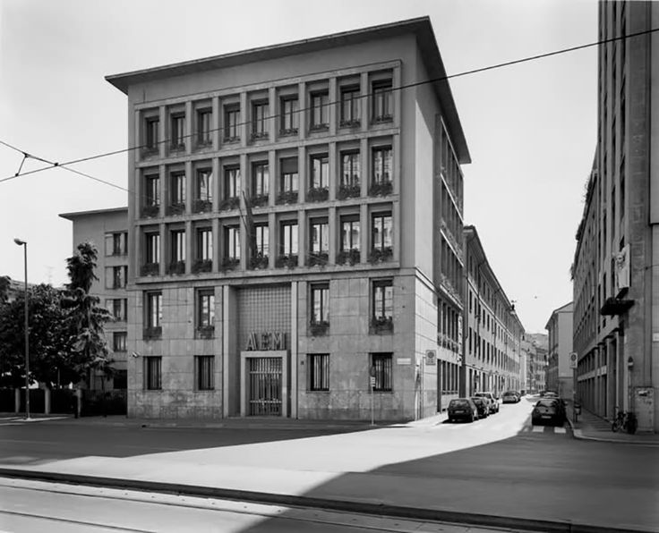 antonio cassi ramelli - sede aem, corso di porta vittoria, milano, 1947