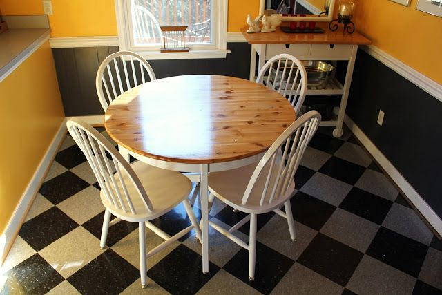 stain retraining  ikea hackers  kitchen table makeover