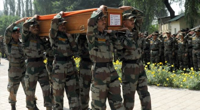 Lucknow: Shattered and traumatized with the news of her father's horrific death at the hands of the Pakistani Army in Krishna Ghatti, Jammu and Kashmir, the daughter of Border Security Force (BSF) head constable Prem Sagar on Tuesday demanded '50 heads in return' of her...