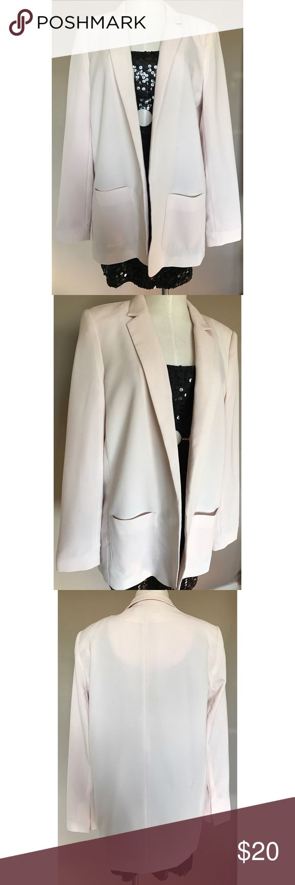 🚨FLASH SALE 50% OFF🚨 Forever 21 Blush Blazer 🚨SALE 50% OFF! Price Already Discounted🚨 PreOwned. Good Condition. Perfect to pair with Nudes and Denim. Fall Color Trend. Forever 21 Jackets & Coats Blazers