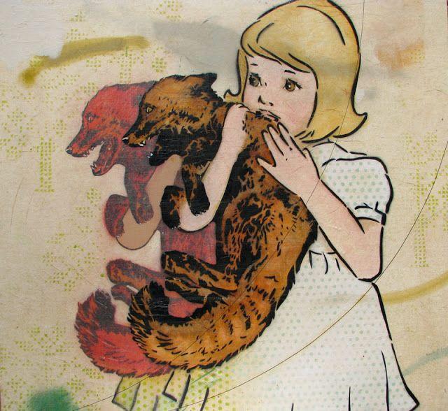UUS TUUS / NEW KEWL: Amanda Marie Stencil Art