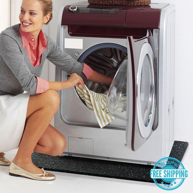 Anti Vibration Washing Machine Mat Gym Floor Matting Shock Sound Absorbent Thick | eBay