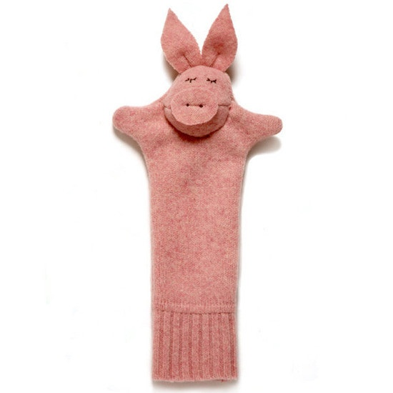Make a wool pig puppet by sevensmooches : Made of upcycled sweaters! #Pig #Puppet #sevensmoochesRowool Pigs, Pigs Puppets, Cochon Rowool, Puppets Sevensmooch, Pigs Washcloth, Upcycling, Diy, Crafts, Pigs Pigs