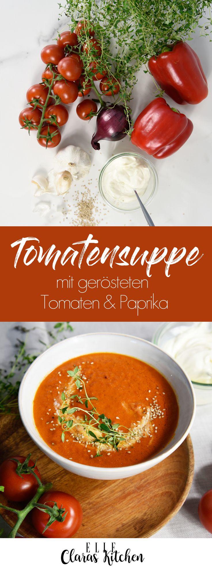 Gesunder Start ins neue Jahr: Tomaten-Paprika-Suppe – Hildegard Saul