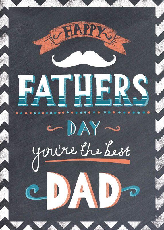 fathers day chalkboard