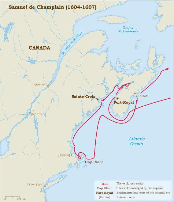 Champlain 1604-1607
