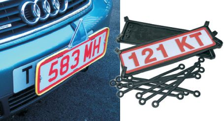 Trade Plate Holders from only £49.95 #motortrade