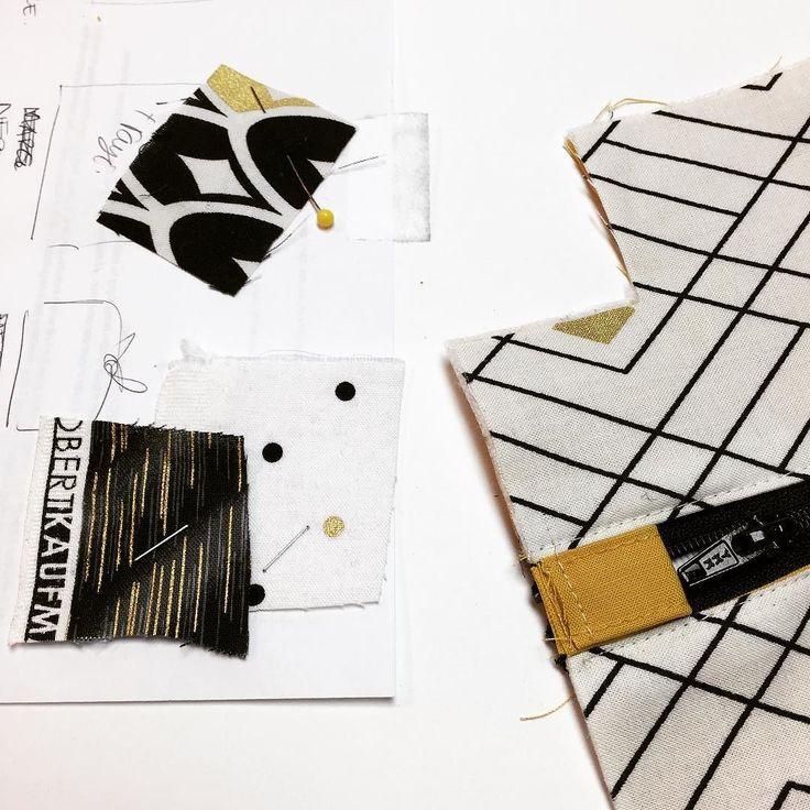 Mixing and matching fabrics for the upcoming surprise pattern!  On mélange des imprimés pour le patron surprise! . . . #jaliegalaxie #mysterypattern #blackfriday #patrondecouture #wovenfabric #quiltingcotton #jalielife #mavieenjalie #surprise