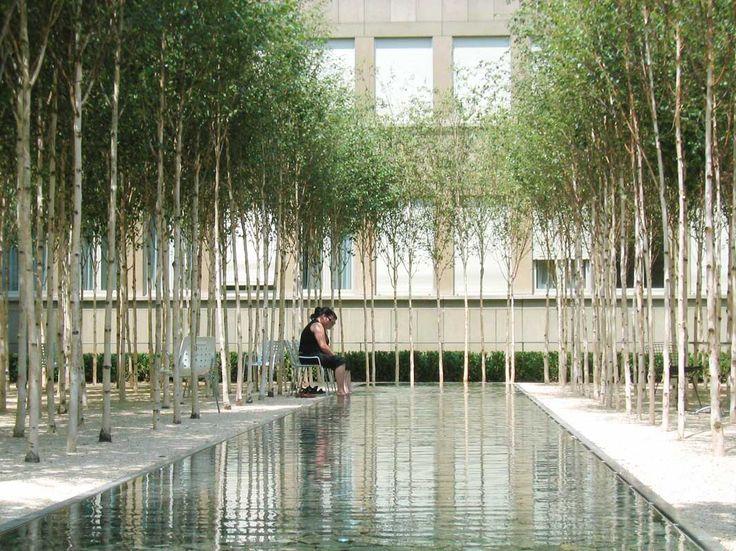 PWP Landscape Architecture : Novartis Headquarters, Forum 1 Courtyard. Easter Thursday, 2014.