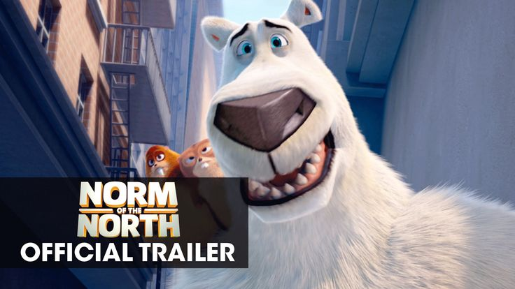 norm of the north official trailer in theaters january 15 2016 movie trailers pinterest. Black Bedroom Furniture Sets. Home Design Ideas