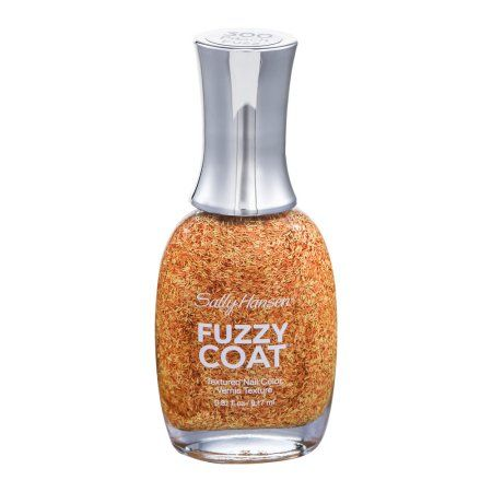Sally Hansen Fuzzy Coat Textured Nail Color 300 Peach Fuzz, 0.31 FL OZ