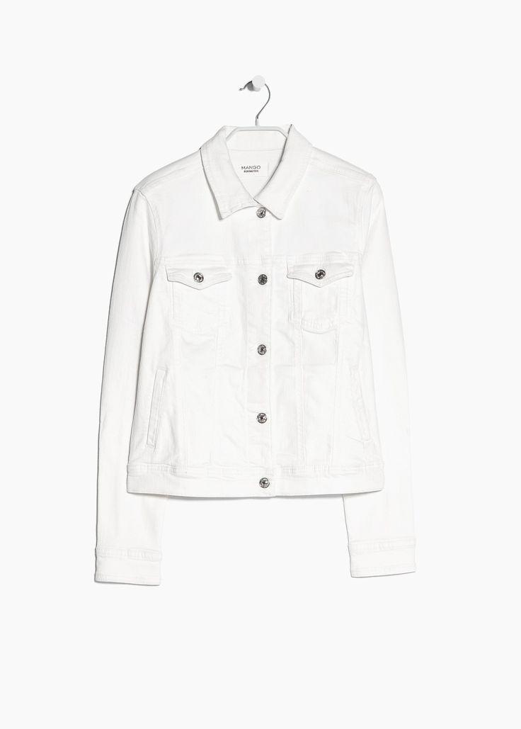 White denim jacket 299,-