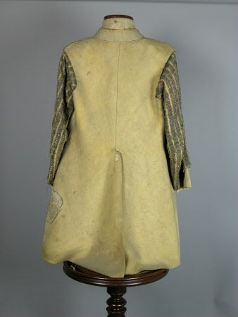Surcoat National Trust Inventory Number 1276655.1 Date	circa 1640 Materials	Leather, gold and silver thread, silk Collection	Seaton Delaval Hall, Northumberland