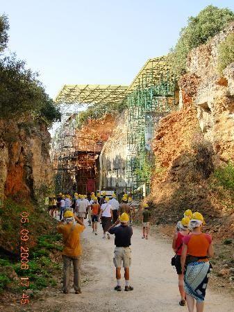 Caves of the Sierra de Atapuerca: Atapuerca. Burgos Spain