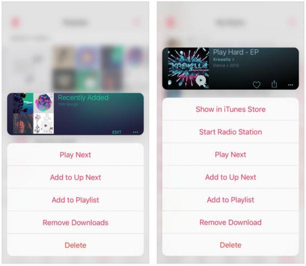 Migliora il supporto al 3D Touch in Musica con Cello  Cydia