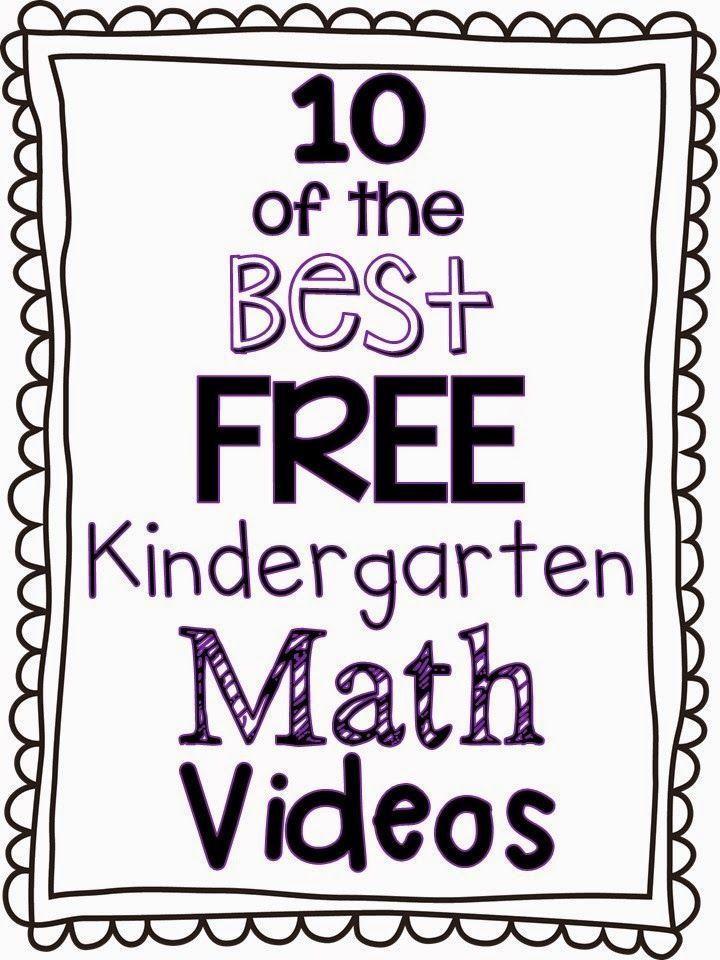 10 of the Best FREE Kindergarten Math Videos