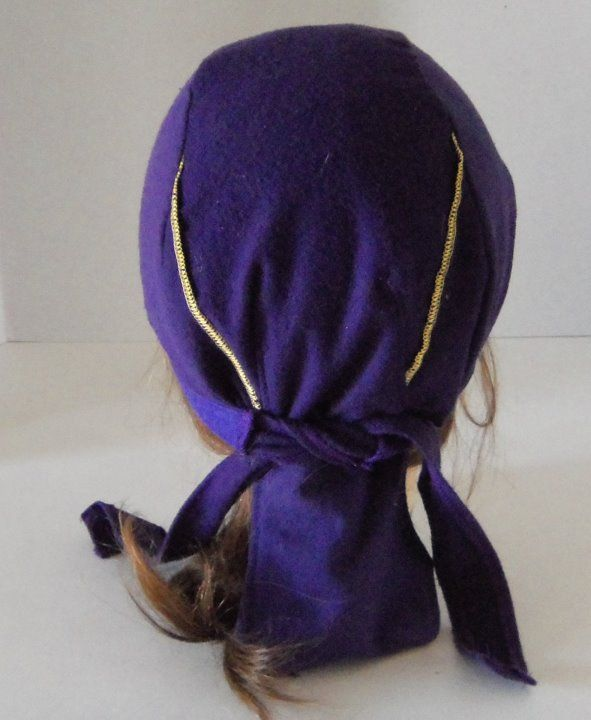Crown Royal Dew Doo Du Rag Made From Crown Royal Bags