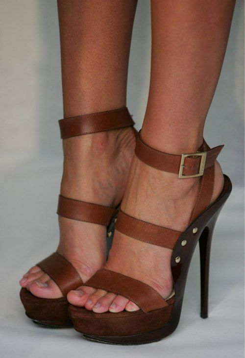 Jimmy Choo: Brown Heels, Beautiful, Jimmy Choo, Choo Halley, Feet, Sandals, Jimmychoo, High Heels, Strappy Jimmy