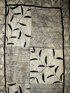 Hiapo Tapa Cloth   Circa 1890s Some scholars believe that many hiapo from this period were made by a single small community on Niue