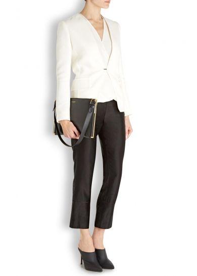 Zeeta black leather shoulder bag - Bags - All Accessories - Women - Sale