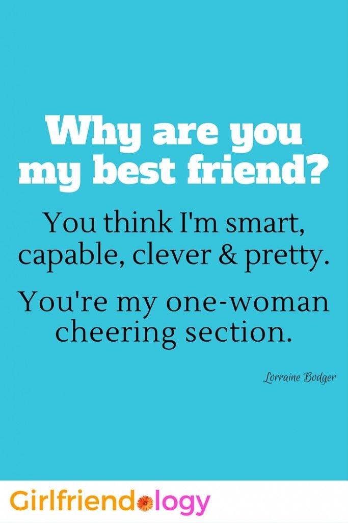 Best Friend Friendship quote for women