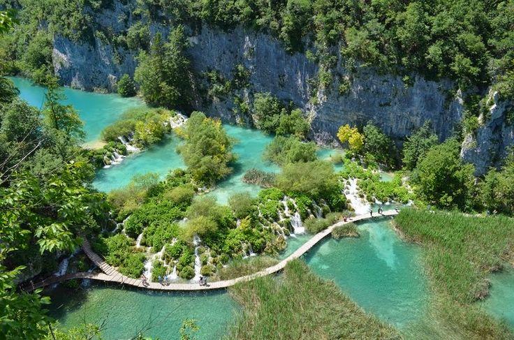 Laghi di Plitvice, un paradiso naturale in #Croazia #viaggi http://www.sphimmstrip.com/2014/07/laghi-di-plitvice-parco-nazionale-croazia.html