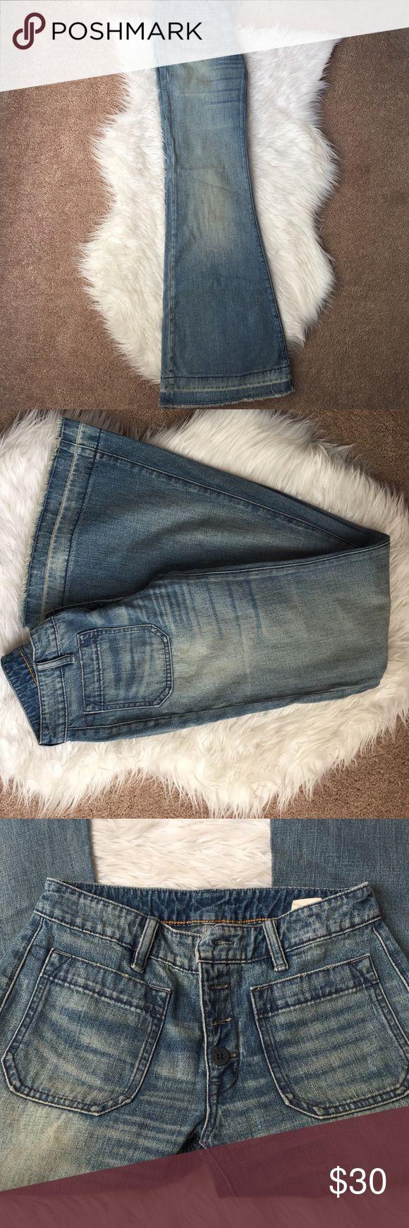 Ralph Lauren Super Flared Jeans Super Flare leg Jeans! Never worn! Denim & Supply Ralph Lauren Jeans Flare & Wide Leg