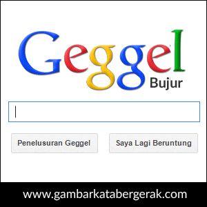 DP BBM Lucu Bahasa Sunda Bergerak, geggel bujur