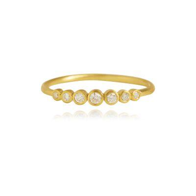 Delight-kollektionen är precis vad varje fashionista behöver i sin smyckessamling. Smyckena framhäver elegansen i varje outfit genom den klassiska och feminina designen. Inspirationen till Delight-kollektionen har varit att skapa ett smycke som ser fantastiskt ut, alla tider på dygnet och i alla situationer. De fina diamanter gör smyckena till eleganta klassiker, skapade för den moderna, stilmedvetna kvinnan. Ett leende på läpparna och en bit glamour i vardagen är alltid på modet. Rin...