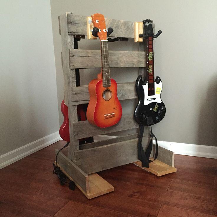 best 25 ukulele stand ideas on pinterest diy guitar stand guitar stand and wood guitar stand. Black Bedroom Furniture Sets. Home Design Ideas